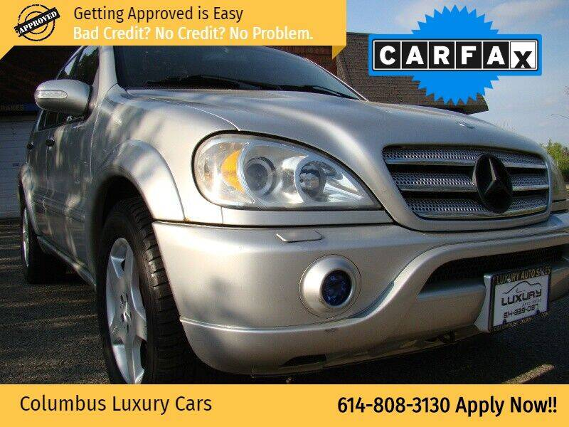 2002 Mercedes-Benz M-Class for sale at Columbus Luxury Cars in Columbus OH