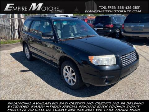 2007 Subaru Forester for sale at Empire Motors LTD in Cleveland OH