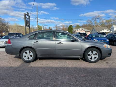 2007 Chevrolet Impala for sale at RIVERSIDE AUTO SALES in Sioux City IA