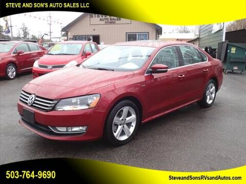 2015 Volkswagen Passat for sale at Steve & Sons Auto Sales in Happy Valley OR