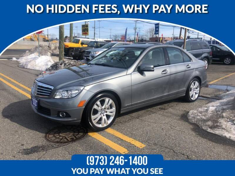 2011 Mercedes-Benz C-Class for sale at Route 46 Auto Sales Inc in Lodi NJ