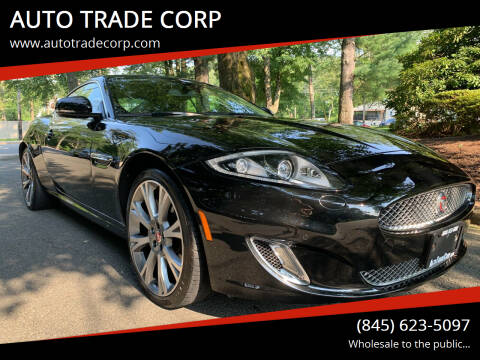 2015 Jaguar XK for sale at AUTO TRADE CORP in Nanuet NY