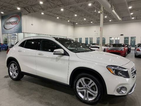 2018 Mercedes-Benz GLA for sale at Godspeed Motors in Charlotte NC