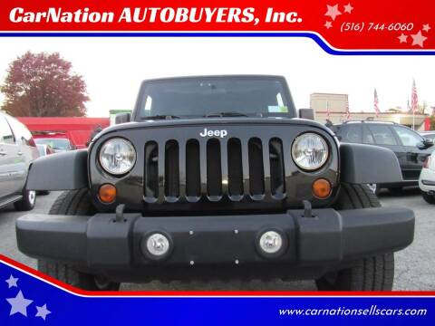 2010 Jeep Wrangler Unlimited for sale at CarNation AUTOBUYERS, Inc. in Rockville Centre NY