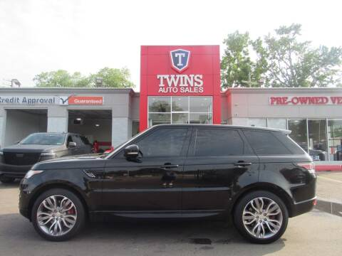 2015 Land Rover Range Rover Sport for sale at Twins Auto Sales Inc in Detroit MI