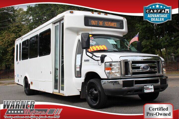 2016 Ford E-450 20 Passenger Mini Bus for sale at Warner Motors in East Orange NJ