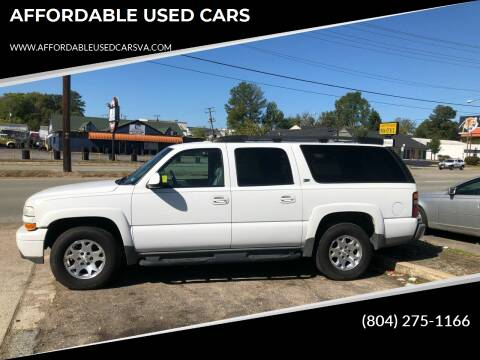 2004 Chevrolet Suburban for sale at AFFORDABLE USED CARS in Richmond VA