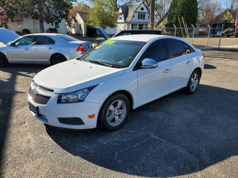 2014 Chevrolet Cruze for sale at J Sky Motors in Nampa ID