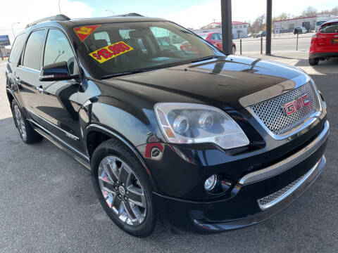2012 GMC Acadia for sale at Top Line Auto Sales in Idaho Falls ID