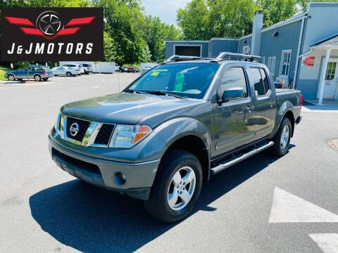 2007 Nissan Frontier for sale at J & J MOTORS in New Milford CT