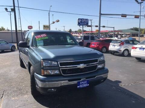 2006 Chevrolet Silverado 1500 for sale at EAGLE AUTO SALES in Lindale TX