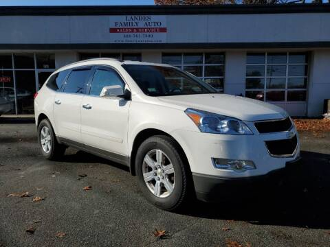 2012 Chevrolet Traverse for sale at Landes Family Auto Sales in Attleboro MA