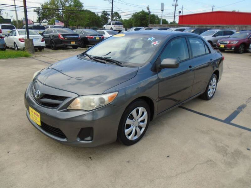 2012 Toyota Corolla for sale at BAS MOTORS in Houston TX