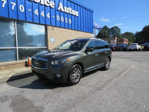 2013 Infiniti JX35 for sale at Southern Auto Solutions - 1st Choice Autos in Marietta GA