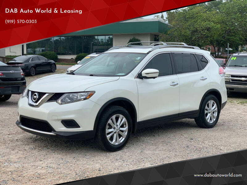 2016 Nissan Rogue for sale at DAB Auto World & Leasing in Wake Forest NC