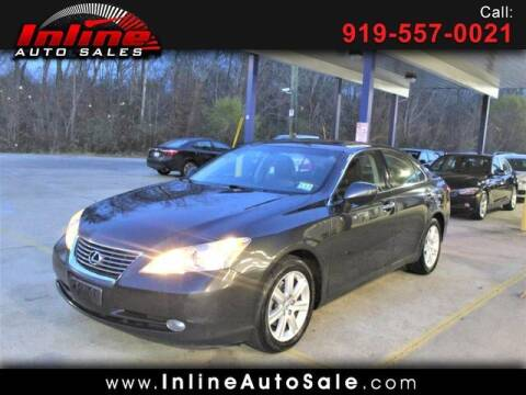 2007 Lexus ES 350 for sale at Inline Auto Sales in Fuquay Varina NC