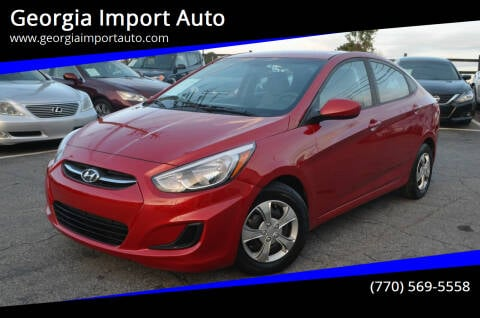 2016 Hyundai Accent for sale at Georgia Import Auto in Alpharetta GA