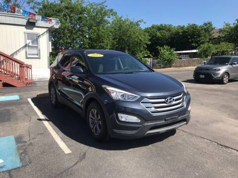2015 Hyundai Santa Fe Sport for sale at Auto Solution in San Antonio TX