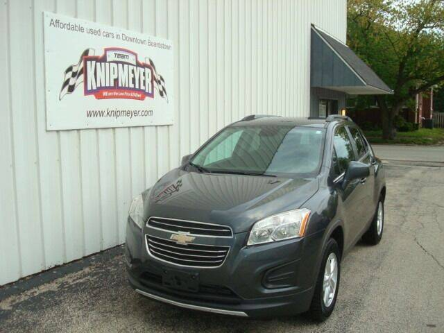 2016 Chevrolet Trax for sale at Team Knipmeyer in Beardstown IL