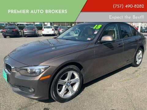 2013 BMW 3 Series for sale at Premier Auto Brokers in Virginia Beach VA