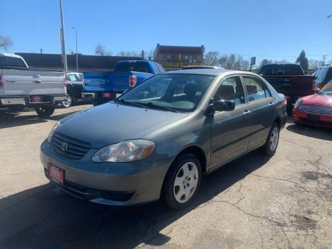 2003 Toyota Corolla for sale at Autoplex 3 in Milwaukee WI