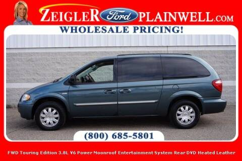 2006 Chrysler Town and Country for sale at Zeigler Ford of Plainwell- michael davis in Plainwell MI