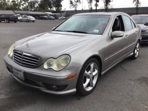 2006 Mercedes-Benz C-Class for sale at SoCal Auto Auction in Ontario CA