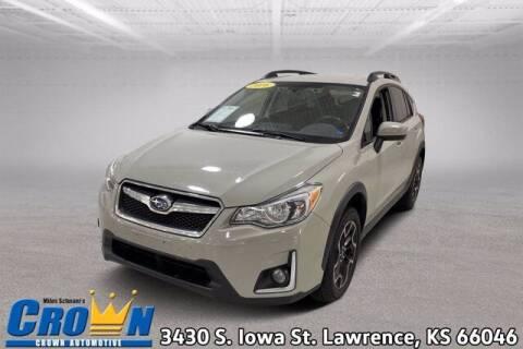 2016 Subaru Crosstrek for sale at Crown Automotive of Lawrence Kansas in Lawrence KS