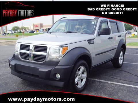 2007 Dodge Nitro for sale at Payday Motors in Wichita KS