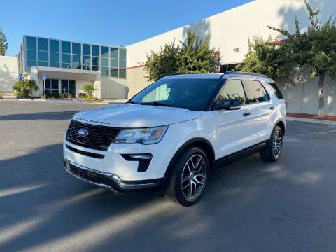 2018 Ford Explorer for sale at Ideal Autosales in El Cajon CA