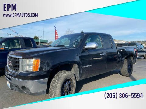 2009 GMC Sierra 1500 for sale at EPM in Auburn WA