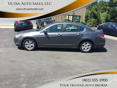 2008 Honda Accord for sale at Ultra Auto Sales, LLC in Cumberland RI
