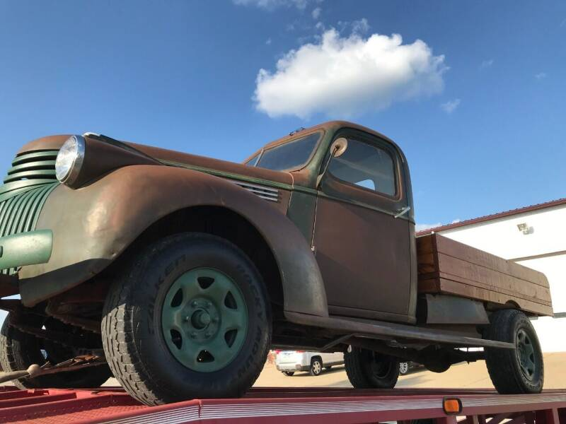 1941 Chevrolet C/K 20 Series for sale at Gary Miller's Classic Auto in El Paso IL