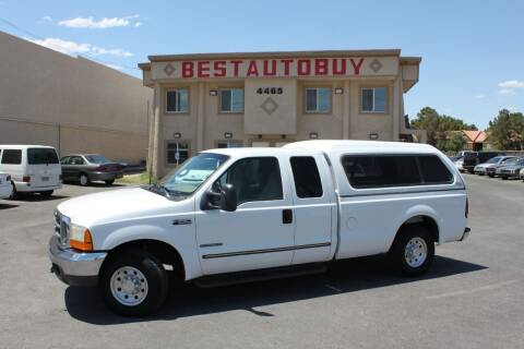 1999 Ford F-250 Super Duty for sale at Best Auto Buy in Las Vegas NV