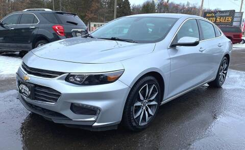 2017 Chevrolet Malibu for sale at Affordable Auto Sales in Webster WI