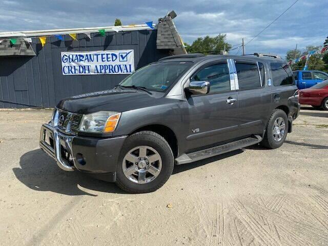2007 Nissan Armada for sale at Heely's Autos in Lexington MI