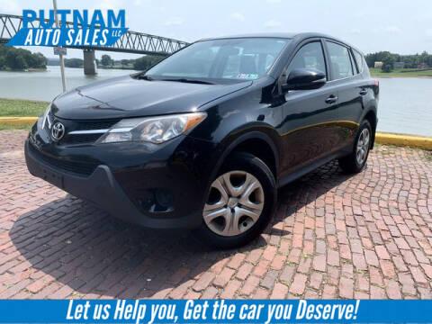 2014 Toyota RAV4 for sale at PUTNAM AUTO SALES INC in Marietta OH