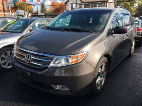 2012 Honda Odyssey for sale at Dijie Auto Sale and Service Co. in Johnston RI