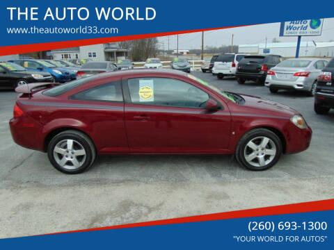 2008 Pontiac G5 for sale at THE AUTO WORLD in Churubusco IN