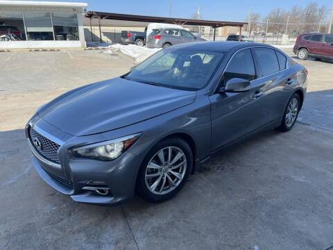 2015 Infiniti Q50 for sale at Kansas Auto Sales in Wichita KS