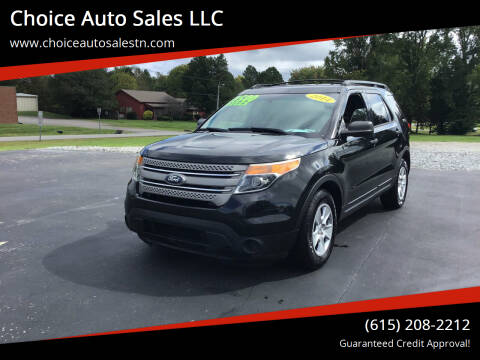 2014 Ford Explorer for sale at Choice Auto Sales LLC - Cash Inventory in White House TN