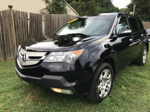 2009 Acura MDX for sale at ALL Motor Cars LTD in Tillson NY