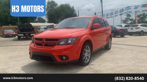 2018 Dodge Journey for sale at H3 MOTORS in Dickinson TX