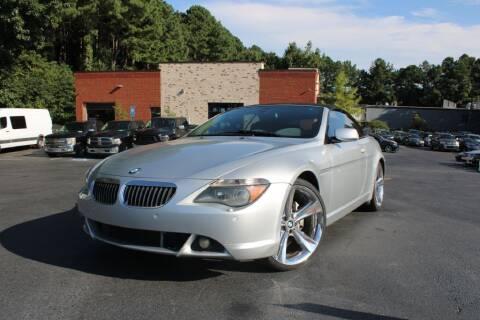 2006 BMW 6 Series for sale at Atlanta Unique Auto Sales in Norcross GA
