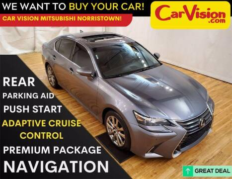 2016 Lexus GS 350 for sale at Car Vision Mitsubishi Norristown in Trooper PA