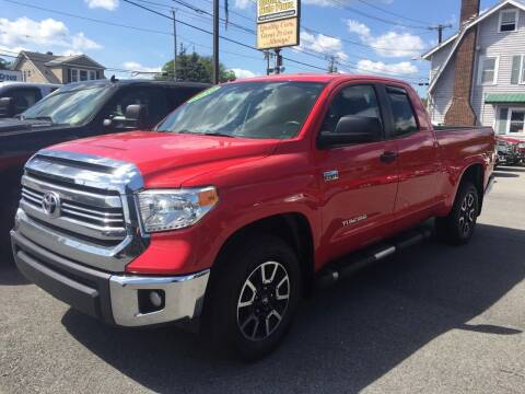 2016 Toyota Tundra for sale at South Point Auto Plaza, Inc. in Albany NY