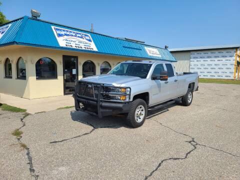 2015 Chevrolet Silverado 2500HD for sale at Dukes Auto Sales in Hawley MN