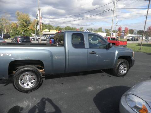 2010 Chevrolet Silverado 1500 for sale at CRYSTAL MOTORS SALES in Rome NY