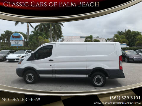 2016 Ford Transit Cargo for sale at Classic Cars of Palm Beach in Jupiter FL