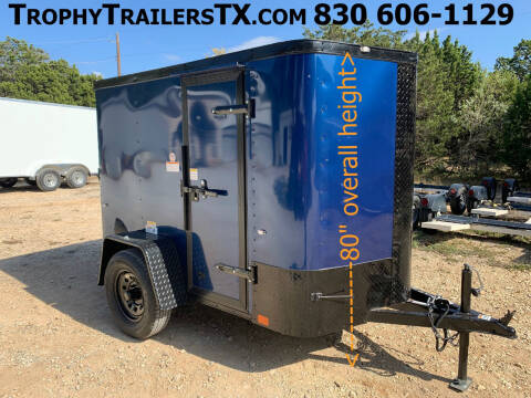 2021 CARGO CRAFT  5X8 RAMP  for sale at Trophy Trailers in New Braunfels TX